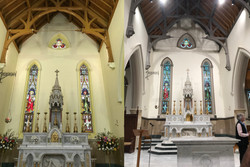 Bathurst Cathedral Sanctuary Before After