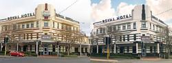 Royal Hotel Orange Before/After