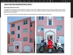 Resene Residential Exterior Award winner