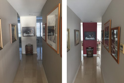 Milsons Point Hall Before/After