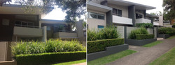 Newport Townhouses Before/After