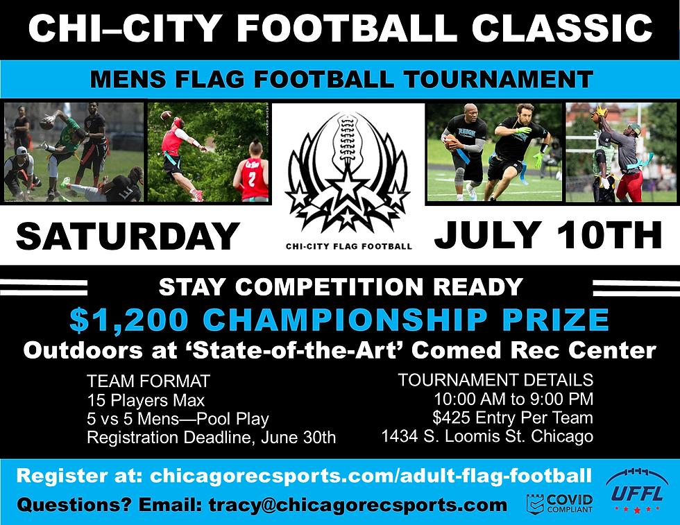 Chi City Football Classic July 10, 2021.