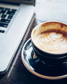 Laptop & Coffee