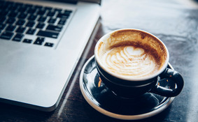 Laptop & Coffee (Air too)