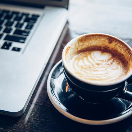 Vamos Tomar um café on-line?