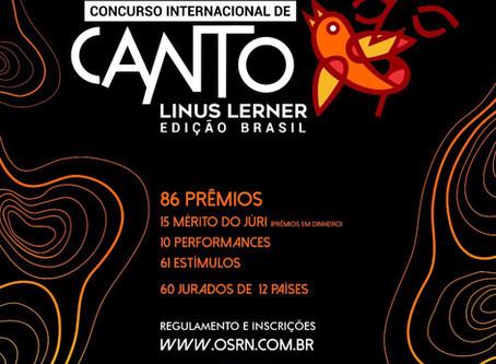 OSRN: CONCURSO INTERNACIONAL DE CANTO LINUS LERNER – EDIÇÃO BRASIL