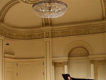 5th MANHATTAN INTERNATIONAL MUSIC COMPETITION - CARNEGIE HALL