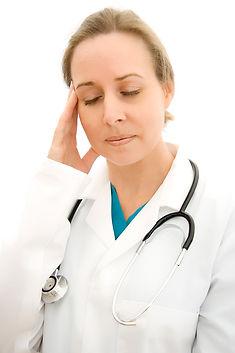 Doctors get tired too ...