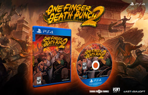 PRESS RELEASE: One Finger Death Punch 2 North American for PlayStation 4