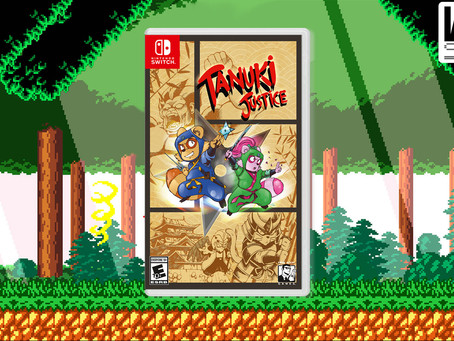 PRESS RELEASE: Tanuki Justice North American for Nintendo Switch