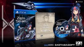 PRESS RELEASE: Zero Strain for PlayStation 4