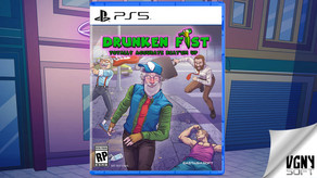 PRESS RELEASE: Drunken Fist for PlayStation 5