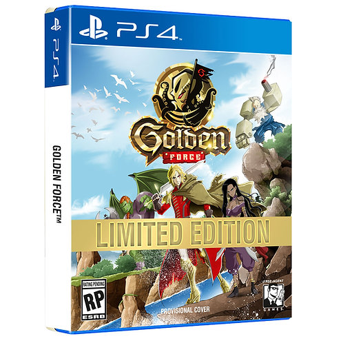 Golden Force - Limited Edition [PlayStation 4]