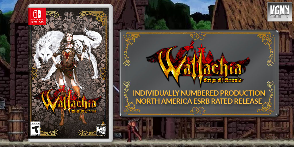 Wallachia Reign of Dracula [Nintendo Switch]
