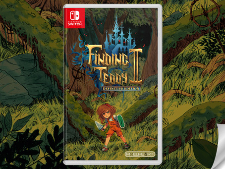 PRESS RELEASE: Finding Teddy II North American for Nintendo Switch