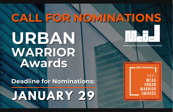 AIA Web Post call for noms urb warrior.p