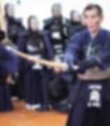 Sumi sensei teaching kote