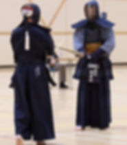 Kendo in armour