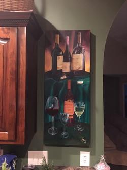 """Wine 19"" No 2"