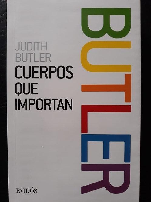 Cuerpos que importan - Judith Butler