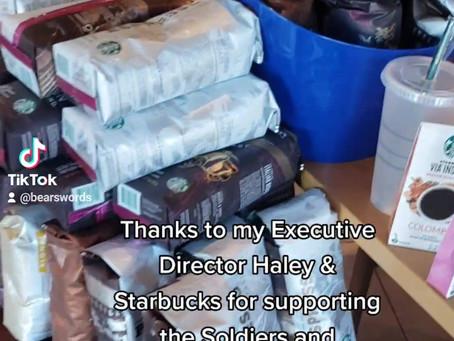 Thanks to Haley Gray & Starbucks