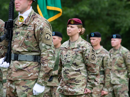 New 101st Airborne command sergeant major is first woman in the job