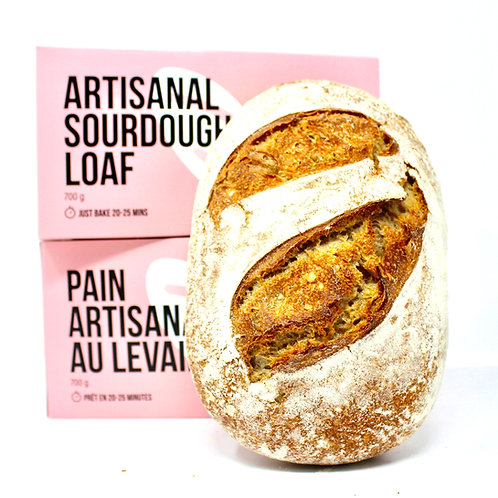 BreadBox Artisanal Sourdough Loaf (700g)