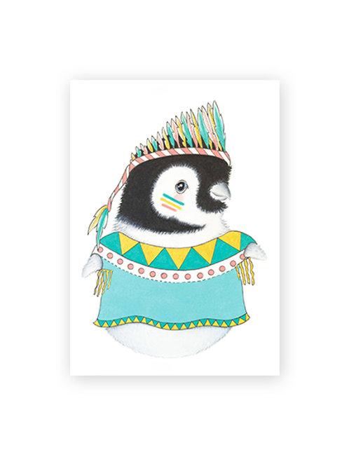 Poster Pinguim Lola