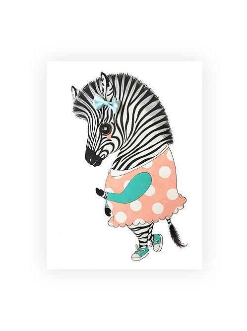 Poster Zebra Ella