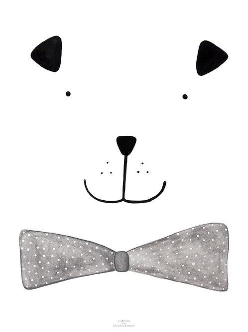 Poster Bóris O Cão A4