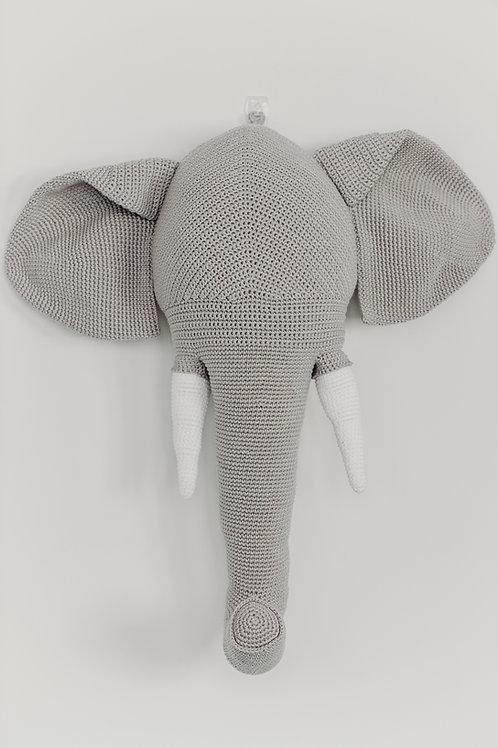 Cabeça de Parede Elefante