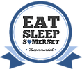 EAT SLEEP SOMERSET recommended badge_SMA