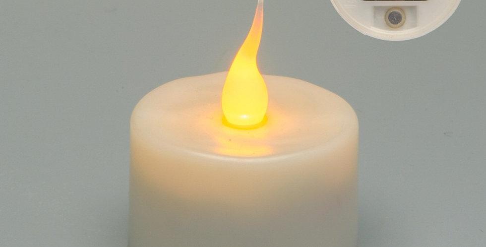 bougie led rechargeable à l'unité Evolution de smart candle