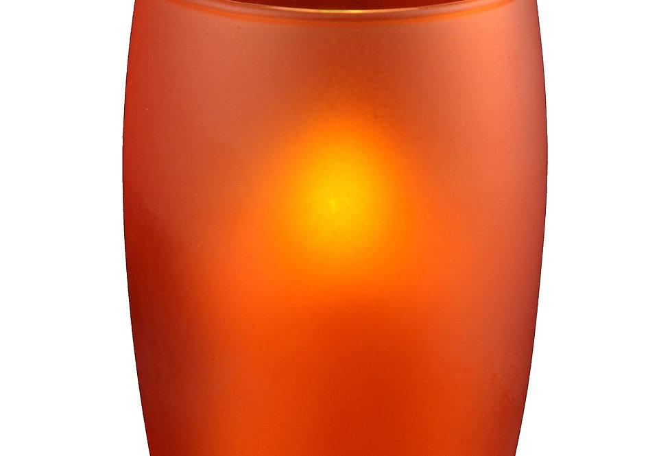 Photophore gobelet orange
