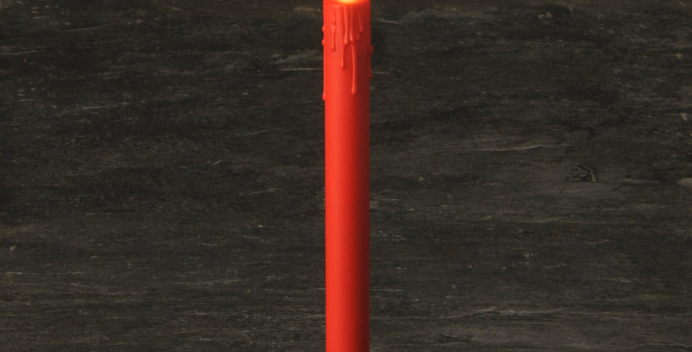Flambeau SMART CANDLE Rouge 25cm