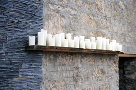Bougies sur secteur 1