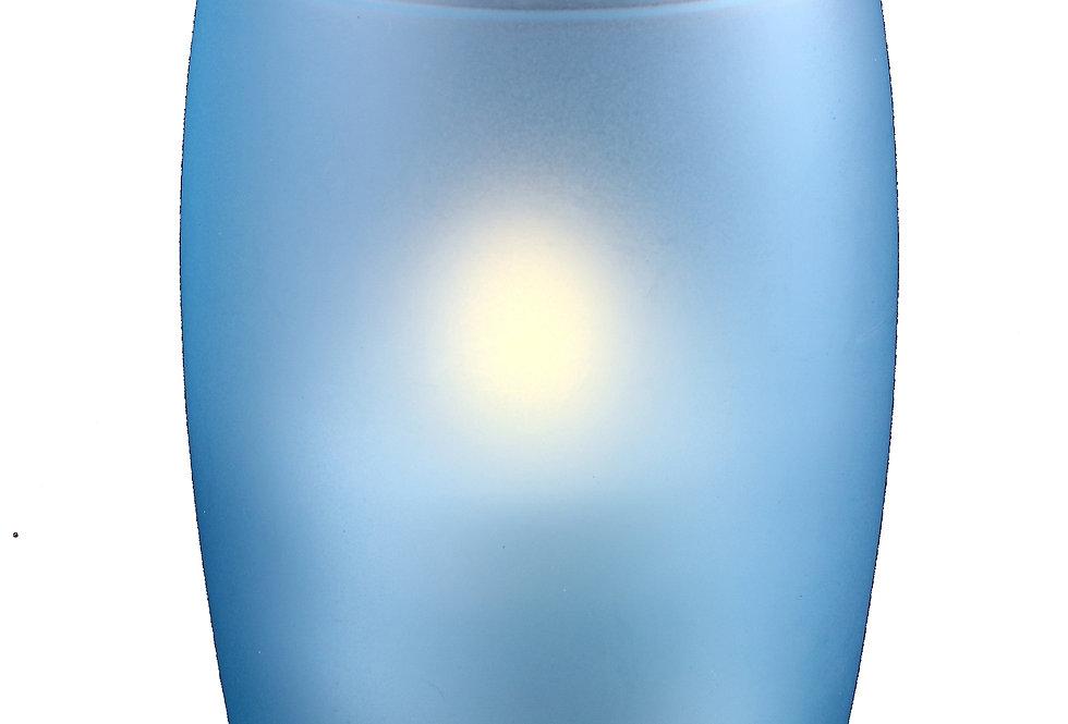 Photophore gobelet bleu