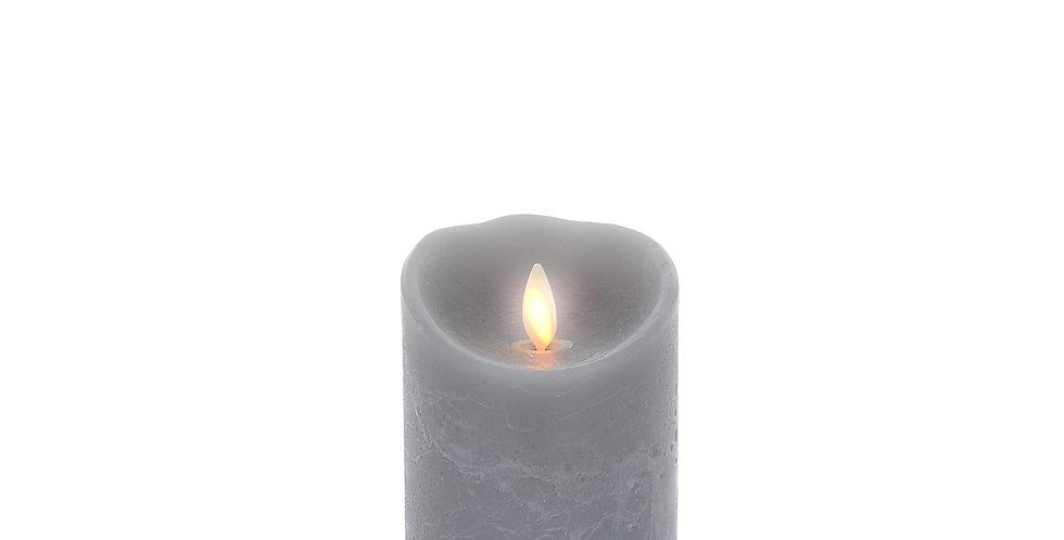 Bougie Luminara Grise 13cm
