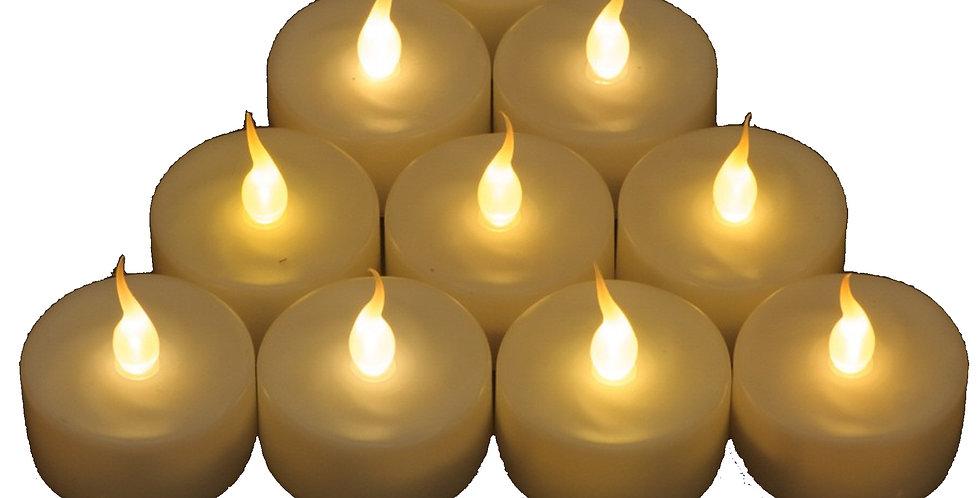 Boîte de 10 bougies à LED Smart Candle couleur Candle Light