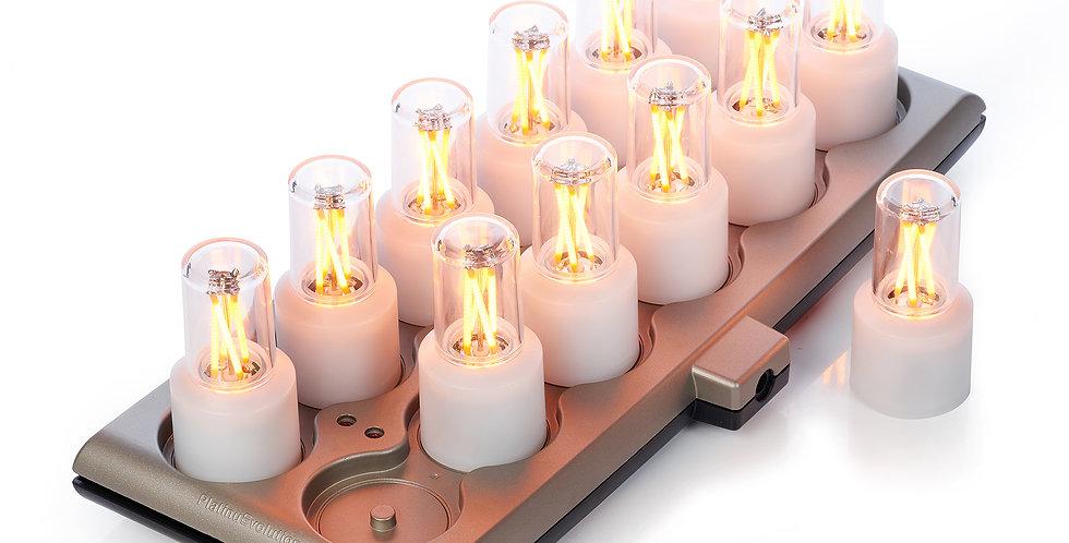 bougie led rechargeable mini smart lampes de smart candle