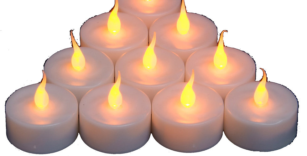 Bougie LED Ambre Smart Candle 1