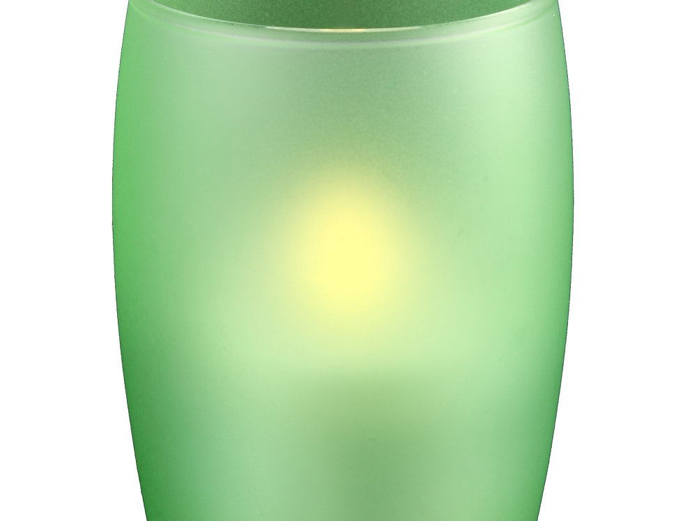 Photophore gobelet vert