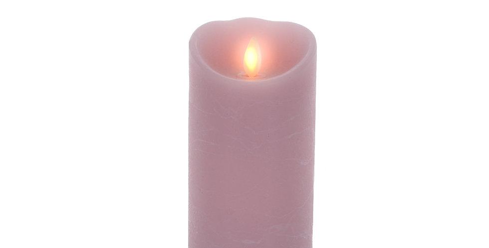 Bougie Luminara Rose 18cm