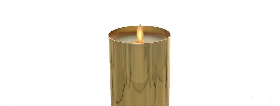 Bougie LED Luminara Metal or