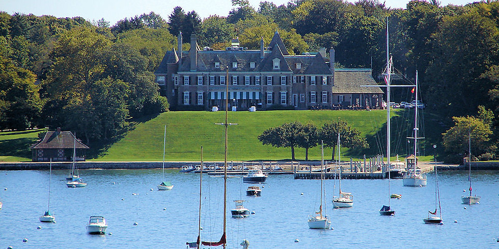 Dinner at the New York Yacht Club in Newport
