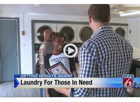 Street Team Movement provides laundry services to homeless