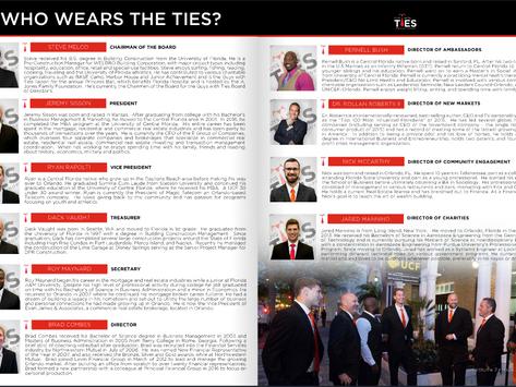 Who wears the ties?