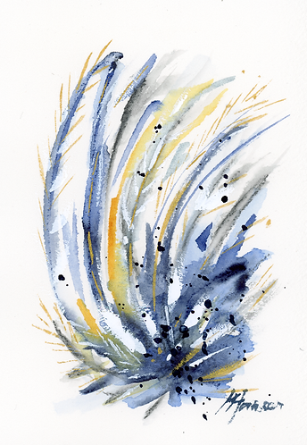 Quiet Reflections - Blue II