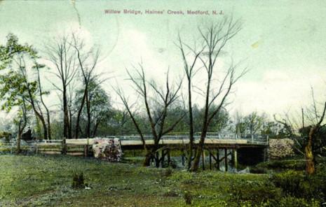 Historical Willow Bridge Haines Creek ci
