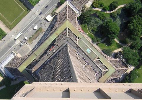 Eiffel Tower - A different Perspective
